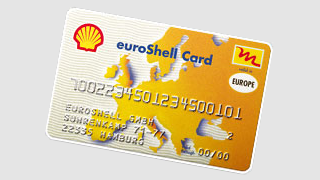 euroShell Card in Total Wash kassa